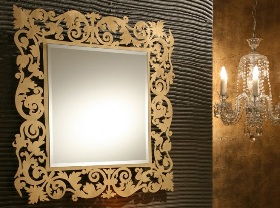 Bathroom wall mirrors for Wall mirror design