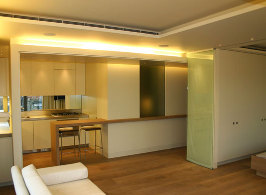 Interior design for small 1 bedroom apartment example for Creative interior design for small apartments