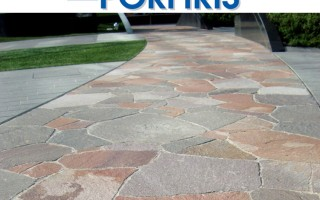 Landscaping idea Natural Stone Bright Color 1