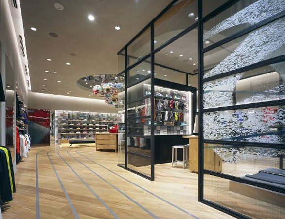 Concept Stores Nike's Flagship Store in Tokyo 7 ...