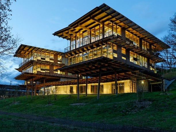 Quiksilver Europe Office and Organic Architecture ...