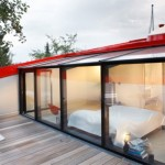 Contemporary Home with Skyview Room-bedroom Outside