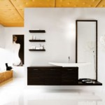 Modern Bathrooms Cerasa matt ebony essence