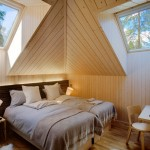 Villas in Finlandia art and design-Bedroom