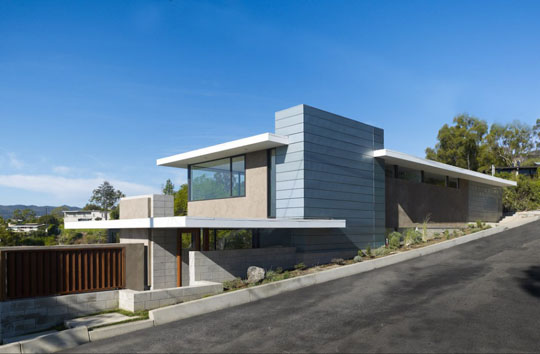Remodel of mid-century modern house: Evans House ...