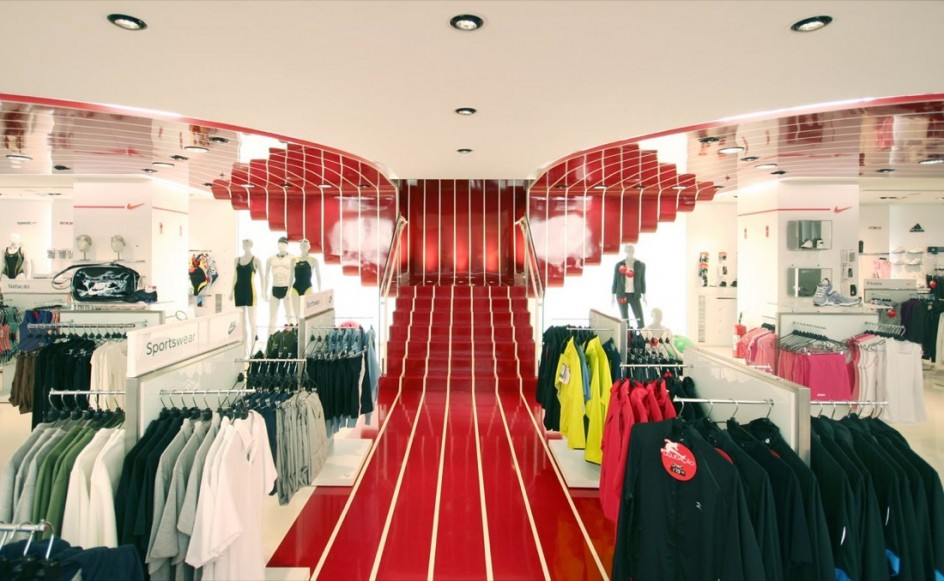 Concept store design centauro for Interior decoration store