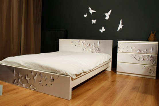 Customize Ikea Furniture Interior Design ~ Customized ikea furniture with easy to apply prints
