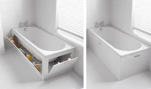 bathtub storage system