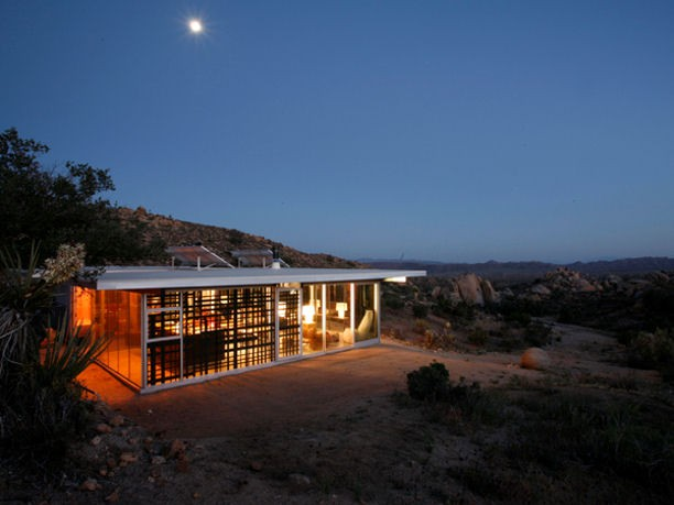 Eco house design self sufficient house in california for House self design