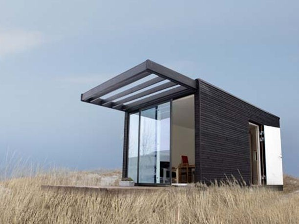 Modular homes with eco friendly materials for Swedish prefab homes