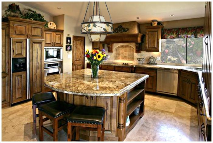 Kitchen island design pictures-01 - Three reasons to add kitchen ...