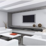 Living Room design with LCD unit pictures
