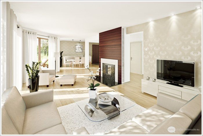 Living room design with lcd unit pictures 04 for Lcd designs for living room