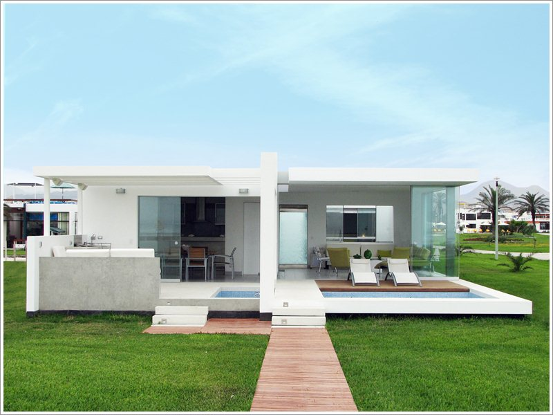 Palabritas beach house design pictures01 for Beach box house plans