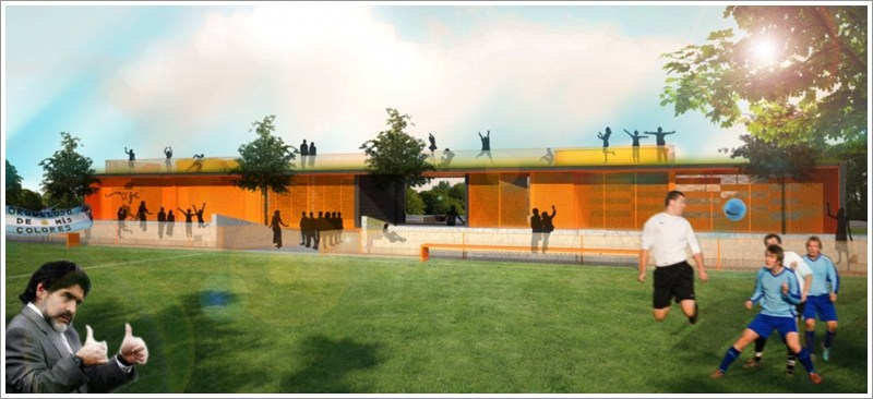 Community Center Architecture Community Center For Youth And