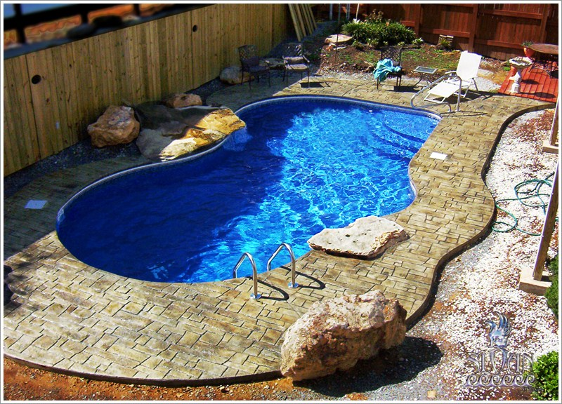 swimming pool decoration ideas flooring. Black Bedroom Furniture Sets. Home Design Ideas