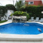 Swimming Pool Decoration Ideas - Fountains