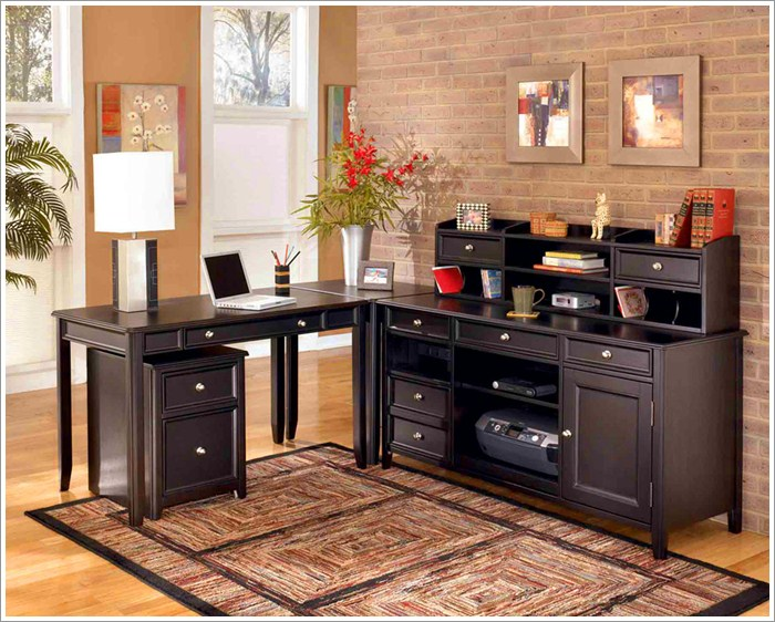 Classic home office design pictures 01 Classic home office design ideas