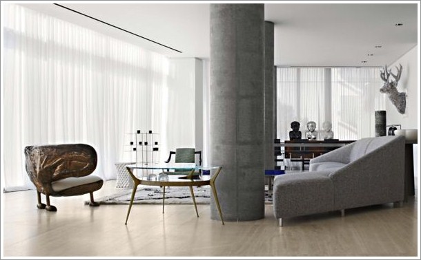 Sophisticated Apartment of Yabu Pushelberg