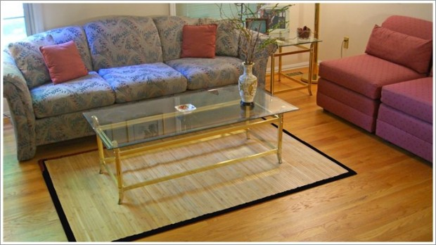 Bamboo Rugs as decorating ideas [Pictures 01]