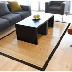 Bamboo Rugs As Floor Coverings Decorating Ideas