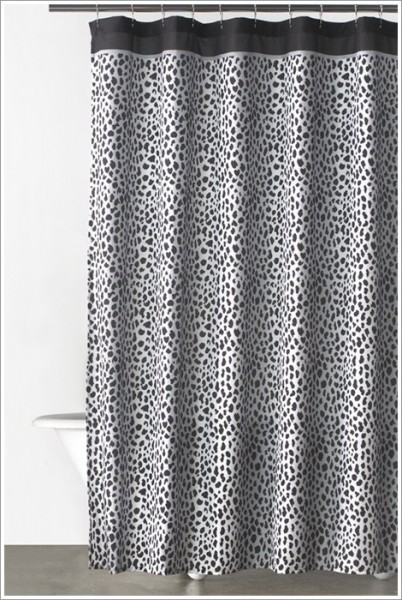 donna karan bathroom accessories cheetah animal print shower curtains 187 cheetah print shower curtains