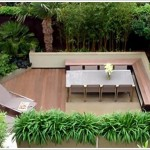 Modern Patio with Zen by Amir Schlezinger