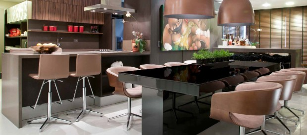 Sophisticated interior design-Kitchen and Bar