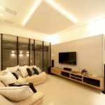 Luxurious environment with horizontal blinds