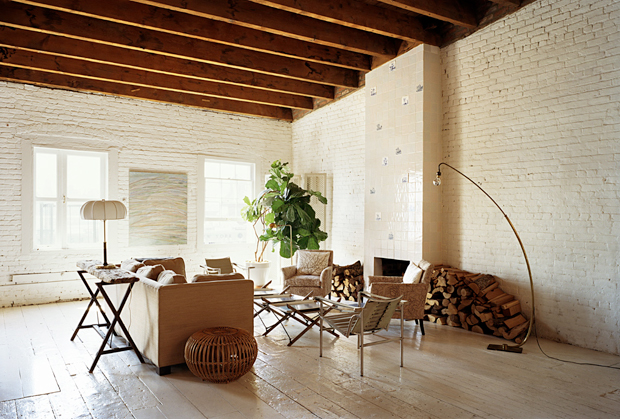Interior of an apartment in New York (2)