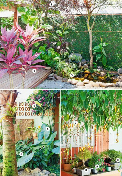 Garden Decoration For Tropical Landscaping (2)