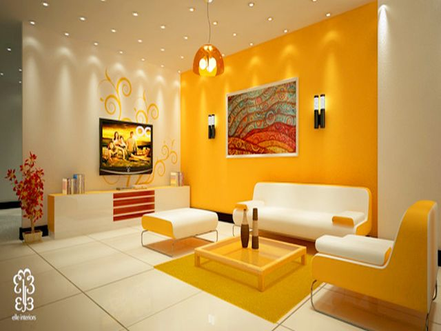 Basic of living room - Strong Color
