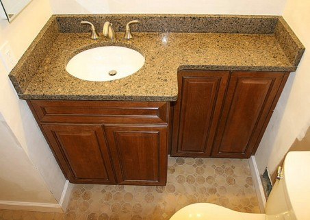 size bathroom vanity