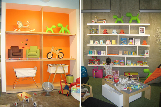 Kids Furniture Retail Store Interior01