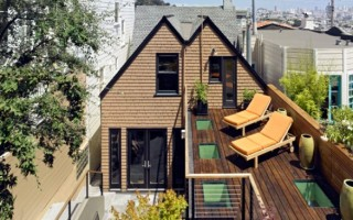 A Small Victorian House Plan in San Fransisco