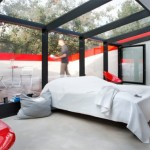Contemporary Home with Skyview Room-bedroom