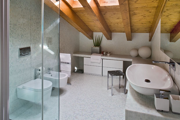 Contemporary Interior Home Design Bathroom