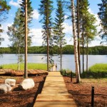 Villas in Finlandia art and design-overlooking beautiful lake
