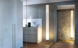 Floor and Ceiling Lamp