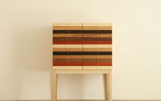 Mixed Wood chest