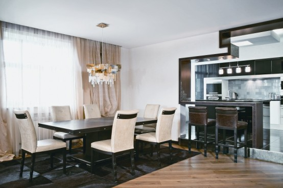 Modern Apartment Dining Room