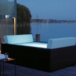 Rectangular Sundeck spa