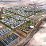 Masdar city environmentally friendly city near Abu Dhabi