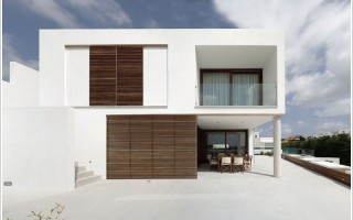 Square House Design Menorca