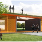 Community Center for Youth and Sports - Urban Recycle Architecture Studio