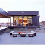 Prefab House - The Desert House