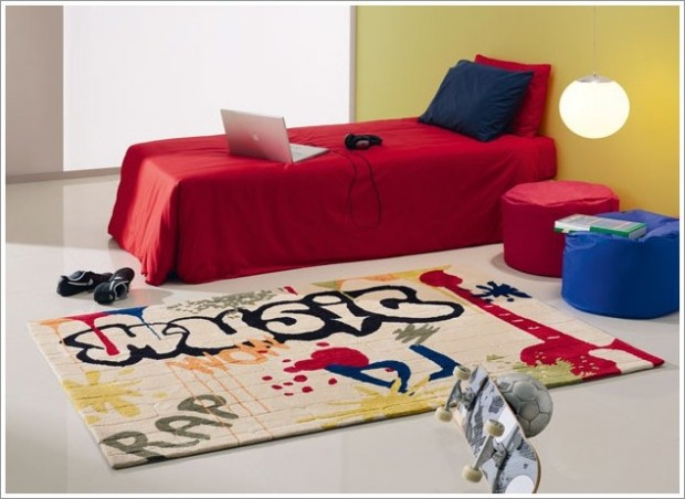 Graffiti in home decoration [Pictures 07]