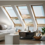 Velux blinds flying pleated