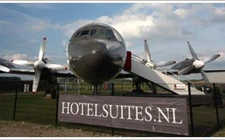 Luxury Airplane Hotel Suite Netherlands
