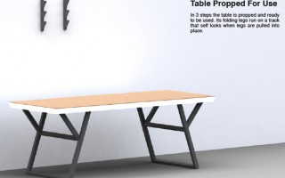 Table On The Wall